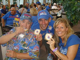 Fans with Cookies
