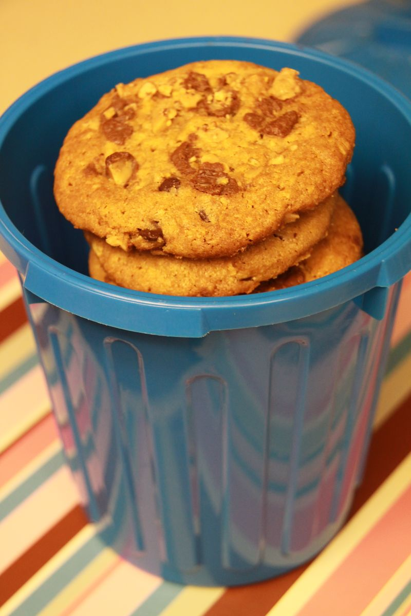 Trash Can Cookies